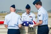 Lễ hồi hương hài cốt quân nhân Mỹ
