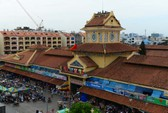 Diện mạo mới của ngôi chợ gần 100 tuổi ở TP HCM