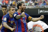 Sốc với hợp đồng 626 triệu bảng Messi tái ký cùng Barcelona