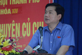 Bí thư Đinh La Thăng nói về vụ Trịnh Xuân Thanh