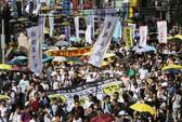 """Hồng Kông ngán """"biểu tình mặt nạ đen"""""""
