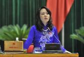 Bộ trưởng Y tế Nguyễn Thị Kim Tiến không nằm trong danh sách miễn nhiệm