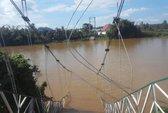 Sập cầu treo ở Đồng Nai: Thanh niên cứu 2 người thoát chết