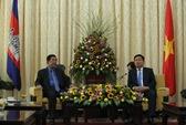 Lãnh đạo TP HCM tiếp Thủ tướng Campuchia