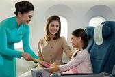 Vietnam Airlines đầu tư thêm thiết bị an toàn phục vụ trẻ em