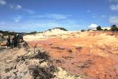 Dừng toàn bộ hoạt động khai thác tại mỏ titan Suối Nhum