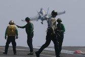 Quan chức Philippines lên tàu sân bay Mỹ tuần tra biển Đông