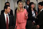 Ivanka Trump phát biểu trước khán phòng