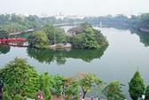 30 tỉ đồng nạo vét 57.000 m3 bùn ở hồ Gươm