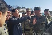 Bộ trưởng Quốc phòng Hàn Quốc đến tận biên giới, cảnh báo Triều Tiên