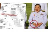 Đồng hồ sang của phó thủ tướng Thái Lan là