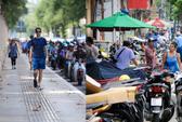 TP HCM: Nơi thoáng, nơi vẫn lấn chiếm sau chiến dịch giành lại vỉa hè