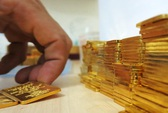Giá vàng SJC chỉ cao hơn thế giới 400.000 đồng/lượng