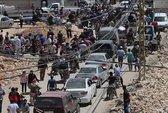 Bị Mỹ ném bom, đoàn xe IS mắc kẹt ở sa mạc Syria
