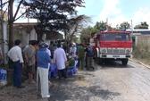 Rò rỉ khí amoniac, 4 người nhập viện cấp cứu