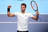 Tiếp bước Federer, Dimitrov giành vé vào bán kết
