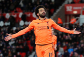 Salah bất ngờ đứng đầu danh sách