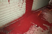 Liên tục bị ném bom xăng, tạt sơn vào nhà