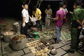 Nổ súng bắt nhóm người nấu cao hổ