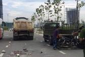 Xe máy tông xe ben, một người chết