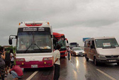 3 xe tông nhau, hàng chục người bị thương trên cao tốc Pháp Vân-Cầu Giẽ