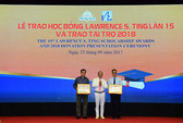 8,46 tỉ đồng được trao tặng tại lễ trao học bổng Lawrence S. Ting lần thứ 15
