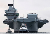 Cận cảnh chiến hạm lớn nhất của Hải quân Anh