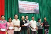 Công ty Đèo Cả và Báo Người Lao Động cứu trợ vùng tâm bão