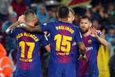 Người hùng Paco Alcacer giúp Barcelona nhấn chìm Sevilla