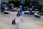 Truy bắt kẻ cướp ngân hàng chớp nhoáng ở Vĩnh Long