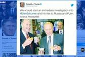 Ông Trump tố ngược lãnh đạo phe Dân chủ từng liên hệ với Nga