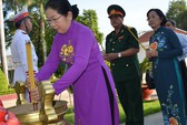 Lãnh đạo TP HCM tưởng niệm ngày Khởi nghĩa Nam kỳ