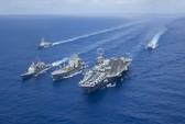 Ba nhóm tàu sân bay Mỹ tập trận chung: Chuyện hiếm có