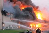 Cháy lớn tại một công ty ở Nhơn Trạch, Đồng Nai