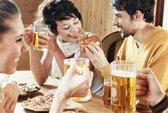 Tại sao bia, rượu kích thích thèm ăn?
