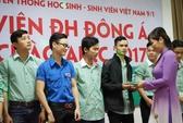 ĐH Đông Á tặng vé xe về tết cho sinh viên vùng lũ