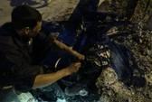 TP HCM: Xe máy Trung Quốc cháy rụi khi đang lưu thông