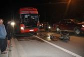 Xe khách Phương Trang tông xe máy, một người chết