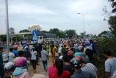 Xe khách tông liên hoàn 4 xe máy, 2 người tử nạn