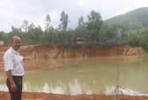 Cán bộ bị tố nhận tiền bảo kê khai thác đất trái phép