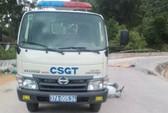 Bất ngờ va chạm xe ô tô CSGT, chồng chết, vợ nguy kịch