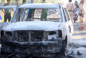 Nghi án phóng hỏa đốt ô tô để thanh toán nhau, 2 người nguy kịch