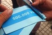 Rút tiền từ ATM được giấy ghi 500.000 VND, ngân hàng nói gì?