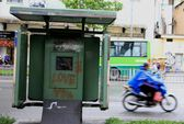 Toàn cảnh hoang phế của trạm thông tin xe buýt, du lịch