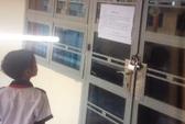 Hy hữu 1 trường học ở Tiền Giang bị nhà thầu đóng cửa!