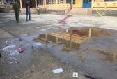 Bảo vệ bị côn đồ chém chết trong trường học