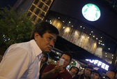 Ông Đoàn Ngọc Hải xử quán cà phê