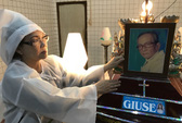 NSƯT Tô Kim Hồng  thọ tang cha