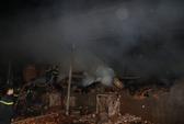 Hỏa hoạn giữa đêm khuya, công ty gỗ bị thiêu rụi