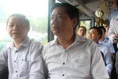 Bí thư Đinh La Thăng trải nghiệm xe buýt mới